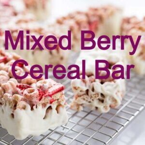 low carb cereal bar recipe