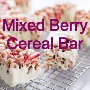 low carb cereal bar recipe