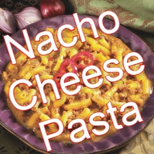 recipe low carb nacho cheese pasta