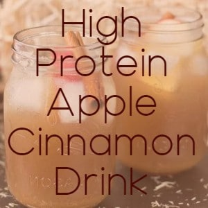 recipe high protein apple drink